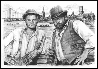 Bud Spencer & Terence Hill goes to Emmerich